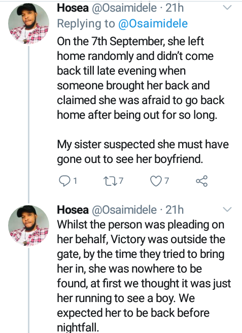 """No one leaves home unless home is the mouth of a shark""- Nigerians raise questions over missing 16-year-old adopted girl"
