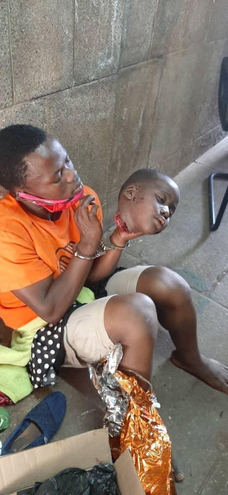 Horror! Young man arrested with fresh head of a child at Uganda Parliament, says it is