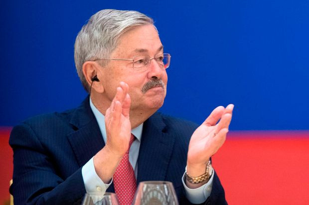 US Ambassador to China, Terry Branstad, stepping down as tensions with Beijing rise