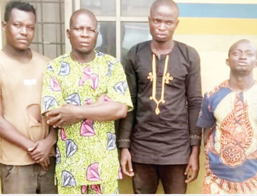 Four arrested for allegedly beating policeman to death in Ogun (photo)