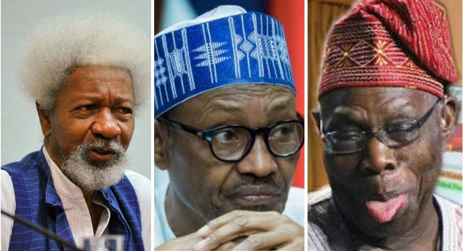 Soyinka backs Obasanjo, says Nigeria has never been this divided