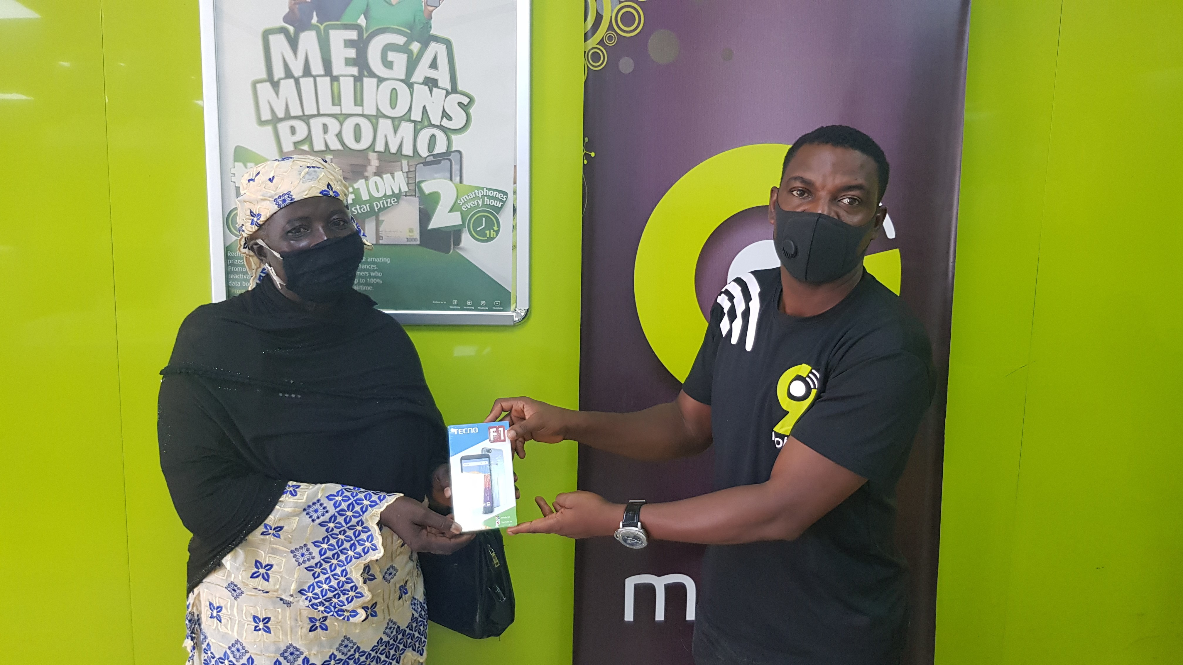 9mobile uplifts small business owners with Mega Millions Promo