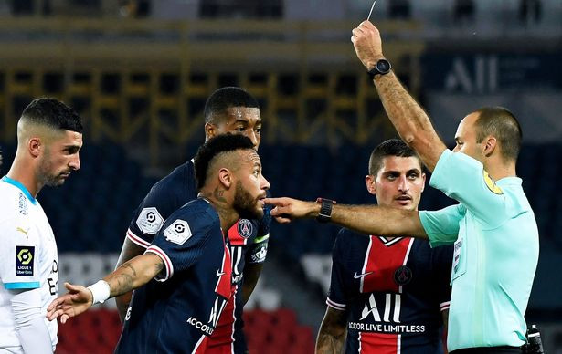 Neymar and four other players banned over PSG brawl as LFP investigates racism allegations