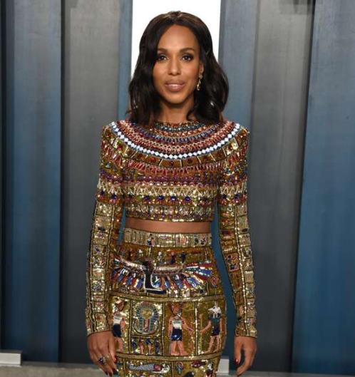 Kerry Washington wins her first Emmy during 2020 Creative Arts Awards