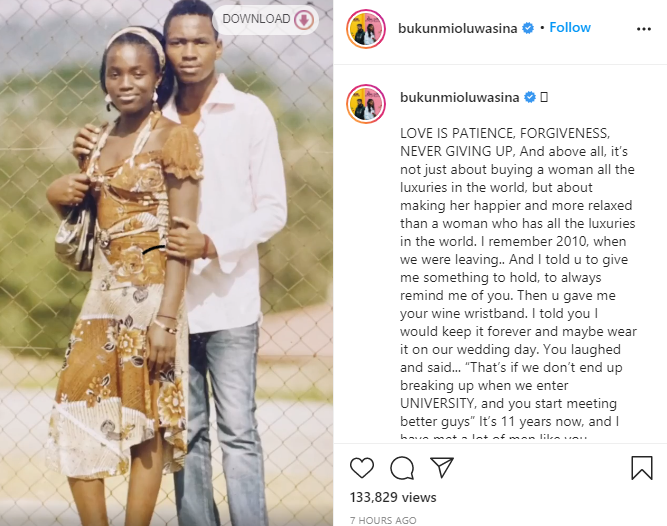 Actress Bukunmi Oluwasina marries boyfriend of 11 years