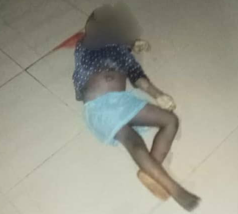 47-year-old man arrested for allegedly killing two of his children and his aged mother in Anambra (graphic photos)