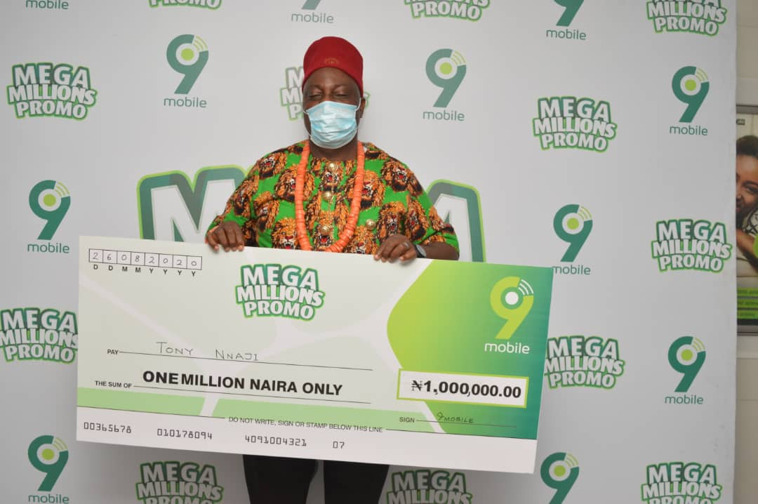 More Nigerians embrace 9mobile?s Mega Millions Promo, as participation surges