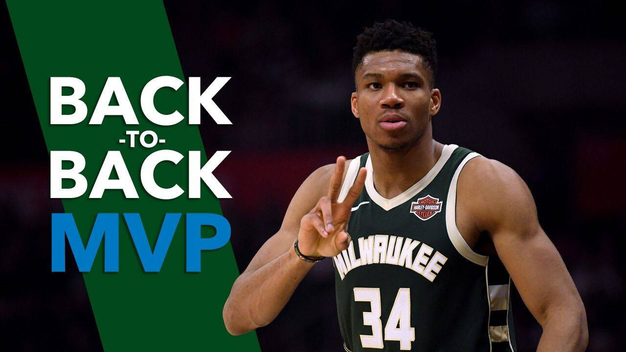 Greek-based Nigerian NBA star, Giannis Antetokounmpo wins Most Valuable Player Award for second straight season