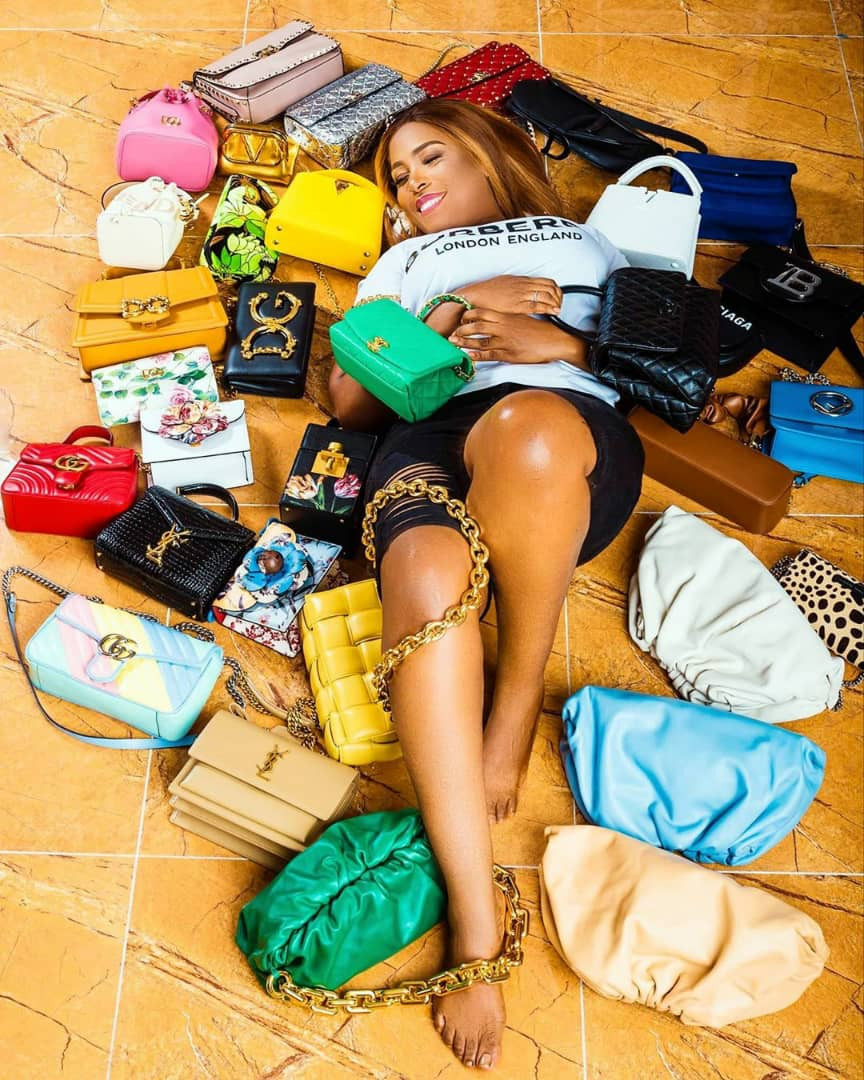 Linda Ikeji splurges on 2020 Range Rover Autobiography, designer shoes and bags as she turns 40