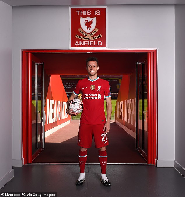 Liverpool complete ?41m signing of Portuguese forward Diogo Jota from Wolves (photos)