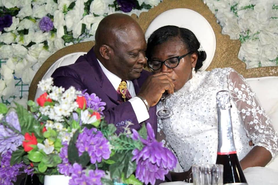 Acting Chief Judge of Cross River State remarries almost 2 years after his late wife