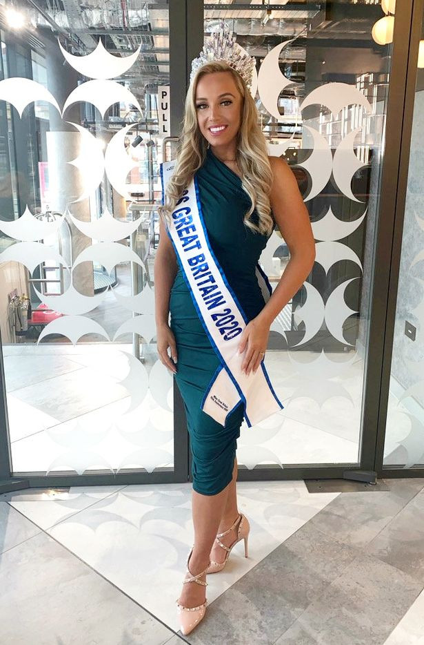 Model who lost 8st to be crowned Miss Great Britain says it
