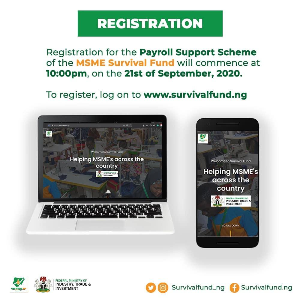 FG opens online portal for Nigerians to access N75billion survival fund lindaikejisblog