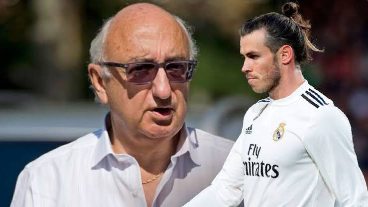 ?They should be kissing the floor he walks on? - Gareth Bale?s agent hits out at Real Madrid after sealing Tottenham switch
