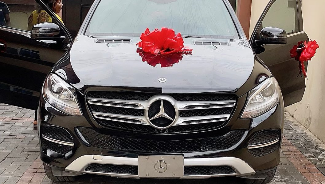 Sex Therapist, Angela Nwosu gifts her husband a Mercedes Benz as birthday gift (photos)