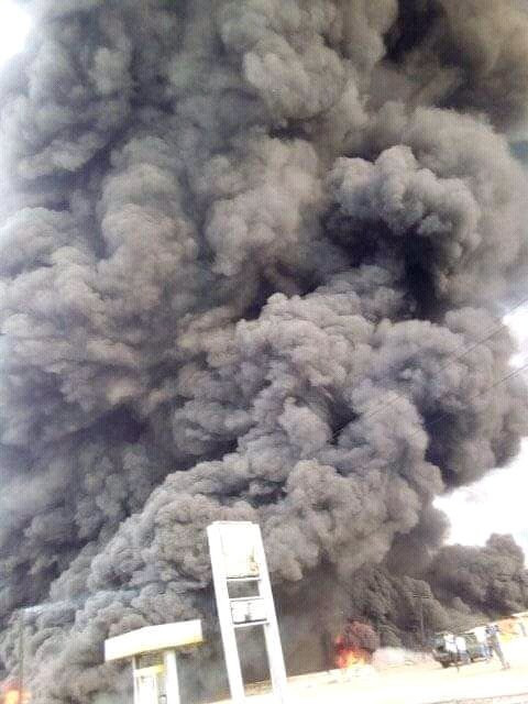 Many persons including primary school students burnt to death in a petrol tanker explosion in Kogi (graphic)