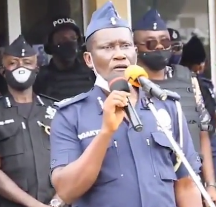 ?Reduce your sex rounds?- top Ghanaian police officer advises his colleagues ahead of the 2020 general elections (video)