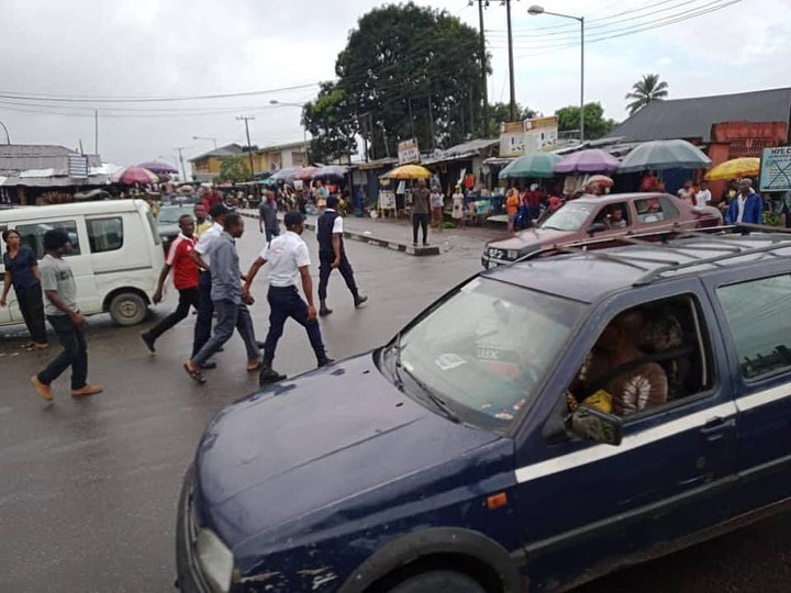 Photos from the arrest of illegal tax collectors in Cross River state