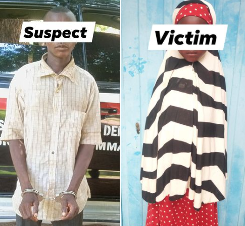 30-year-old man arrested for allegedly raping 5-year-old girl in Jigawa (photos)