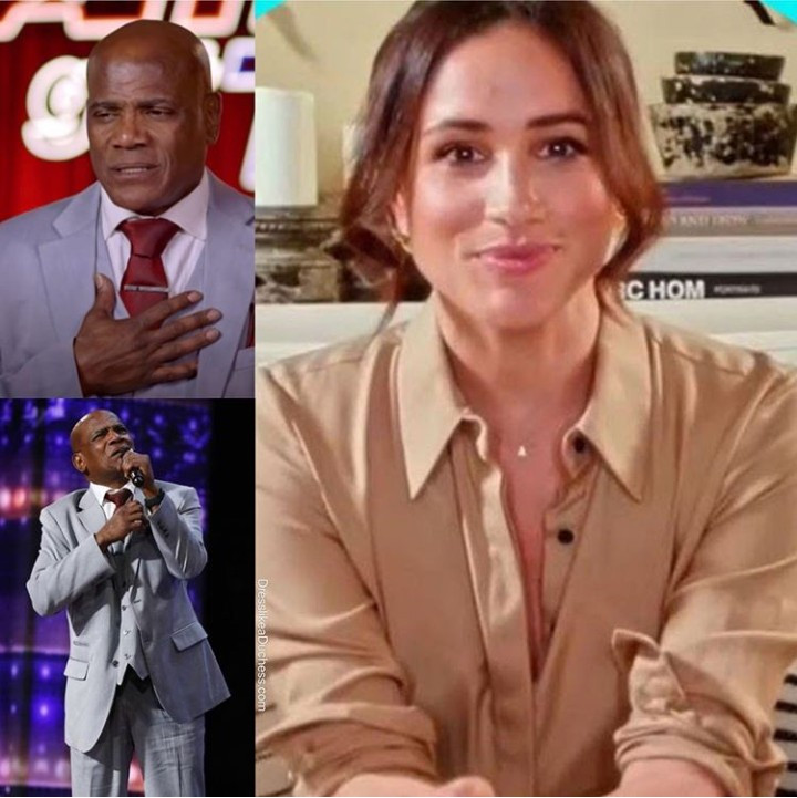 ?Meghan Markle makes surprise appearance on America?s Got Talent to support contestant who was wrongly imprisoned for 36 years (video)