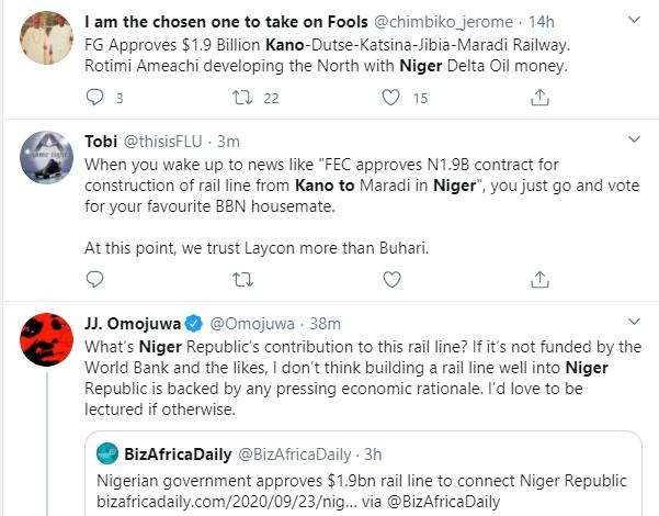 Nigerians react