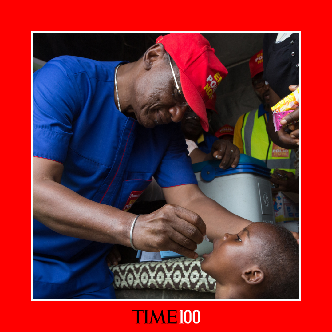 Nigerian physician Dr. Tunji Funsho named one of TIME?s Most Influential People in the world