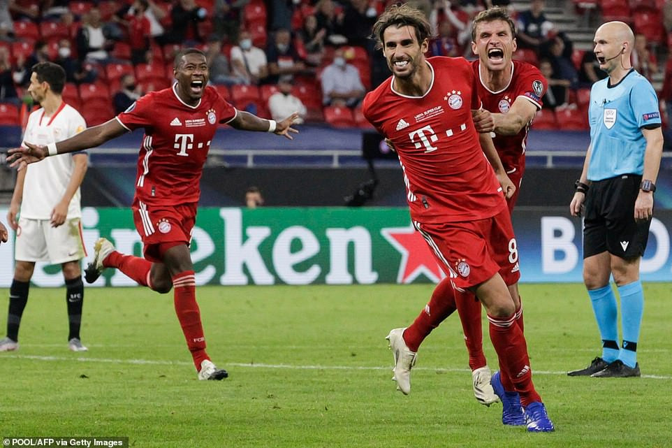 Bayern Munich beat Sevilla to win UEFA Super Cup (Photos)
