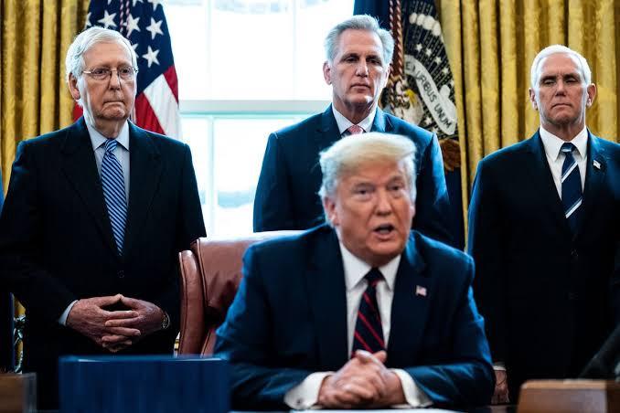 US 2020: Top Republicans dismiss Trump