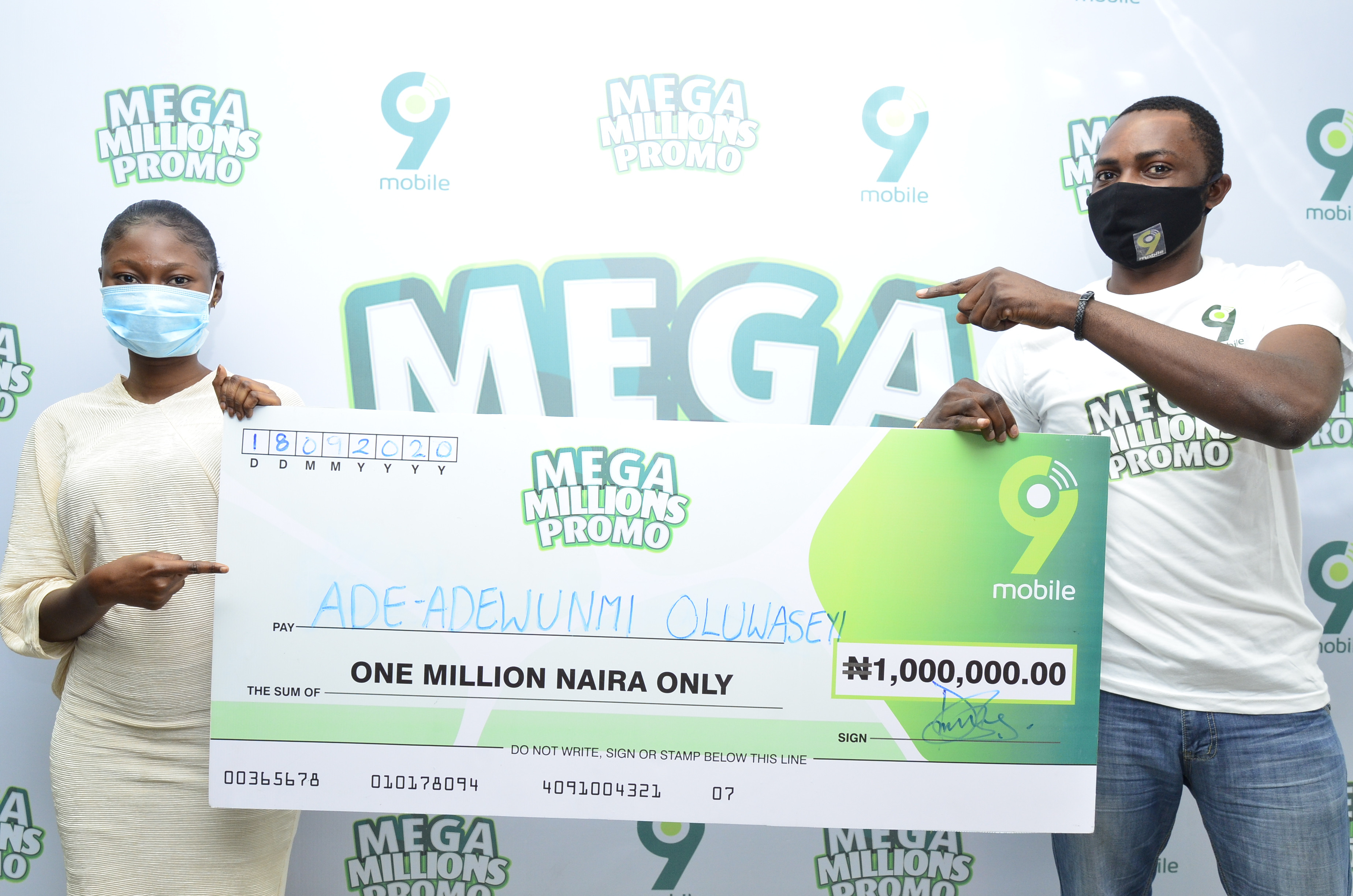 ?I will gift my N1million win to my only parent, my mother? - 9mobile Mega Millions N1m Winner