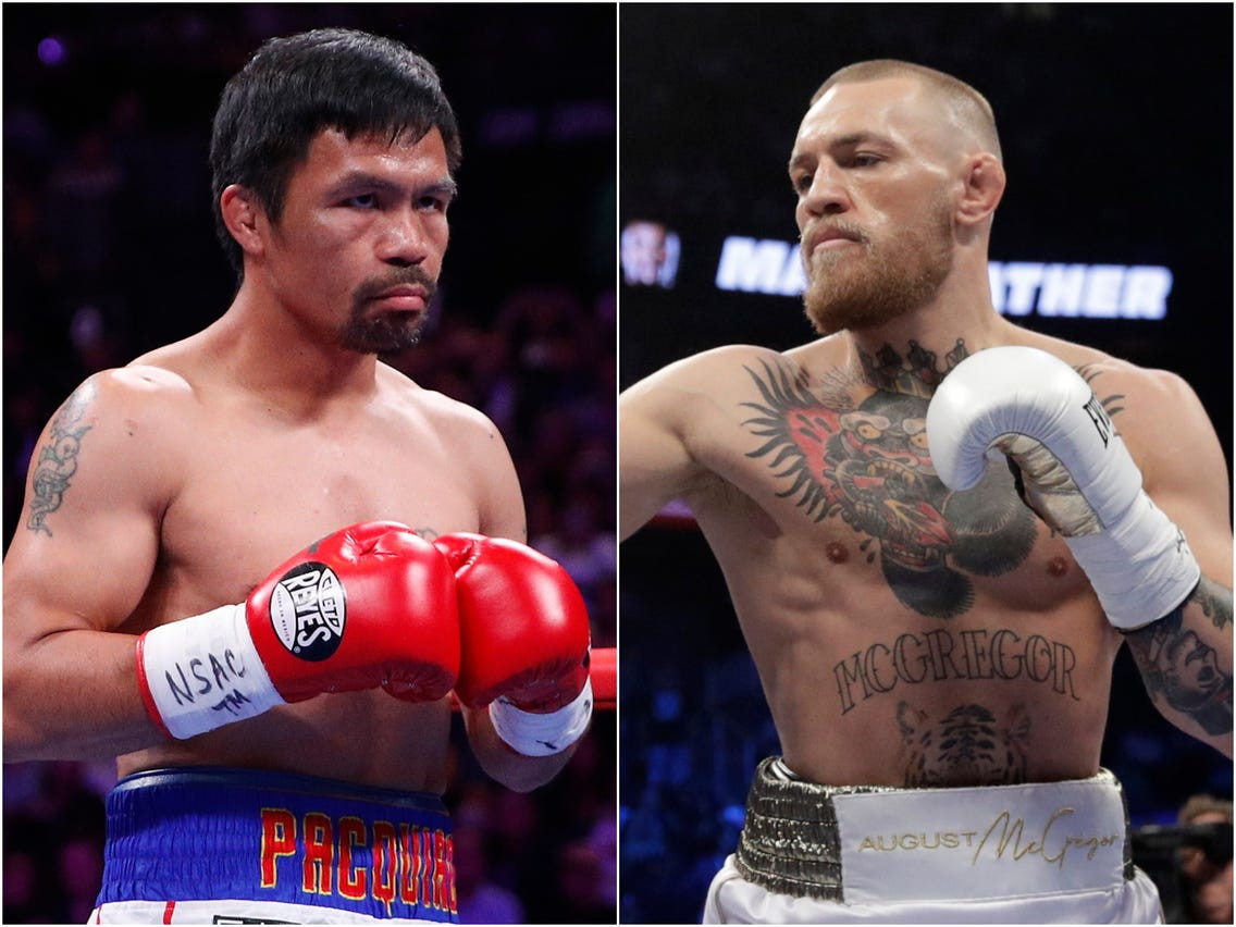 Manny Pacquiao confirms fight with Conor McGregor in the Middle East next year