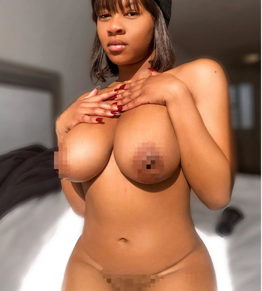 Body positivity activist, Abby Zeus goes completely naked in new X-rated photo (+18)