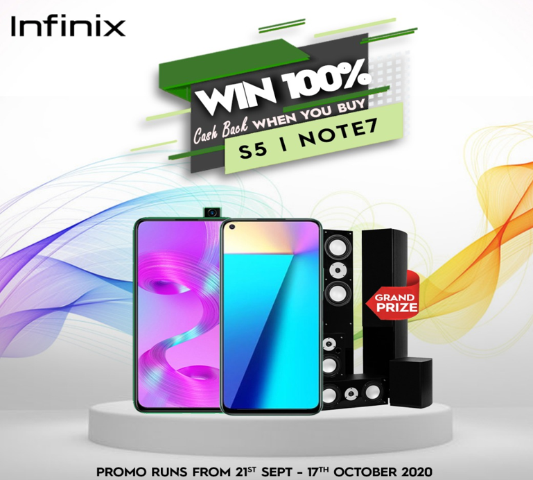 Win amazing rewards in the Ongoing Infinix Scratch and Win Promo