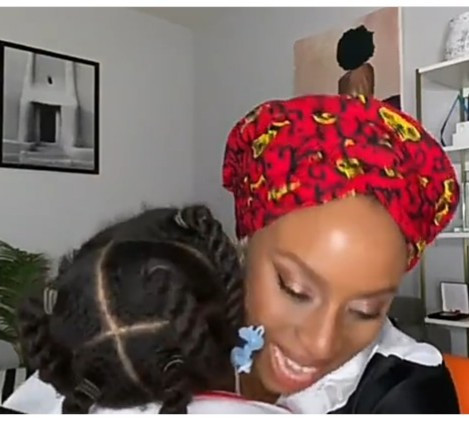 Chimamanda Ngozi Adichie hails her daughter in Igbo and she responds in adorable video