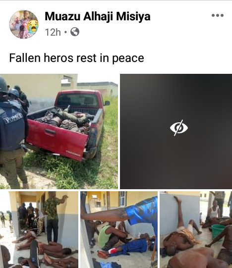 Graphic: Photos of soldiers, policemen, CJTF operatives killed in Boko Haram attack on Borno governor