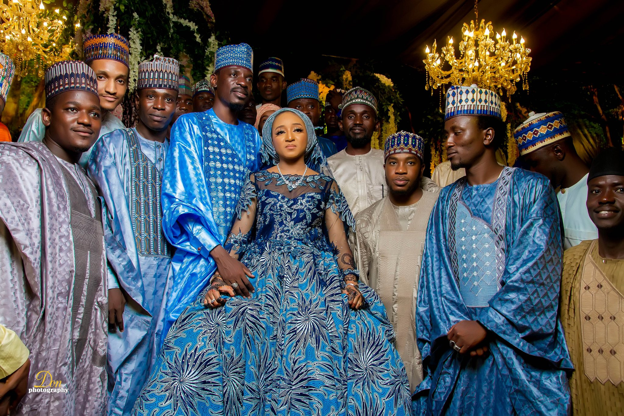 Photos from the wedding of presidential aide, Bashir Ahmad