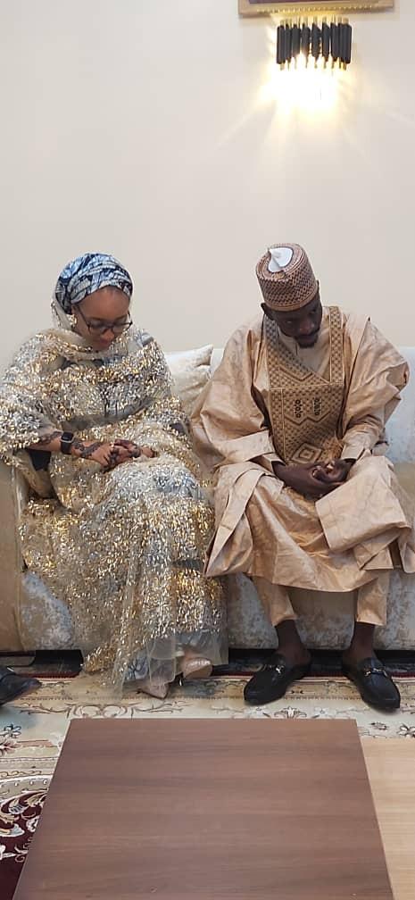 Photos from the wedding of presidential aide, Bashir Ahmad