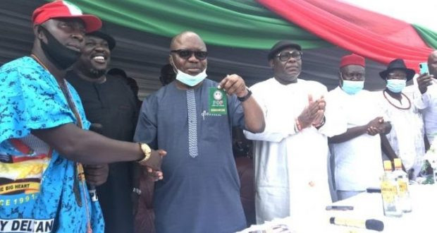 Former Delta state Governor Uduaghan dumps APC, returns to PDP