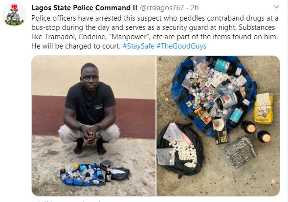 Police arrest man