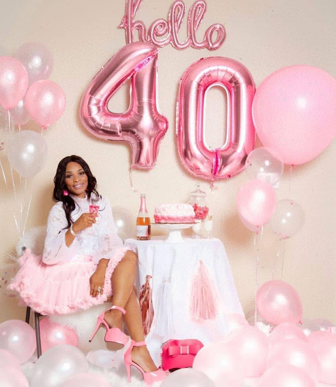 Actress, Georgina Onuoha, releases lovely new photos as she turns 40