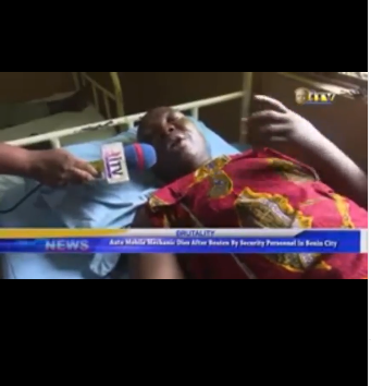 Auto mechanic dies after allegedly being beaten to coma by security operatives in Benin (video)