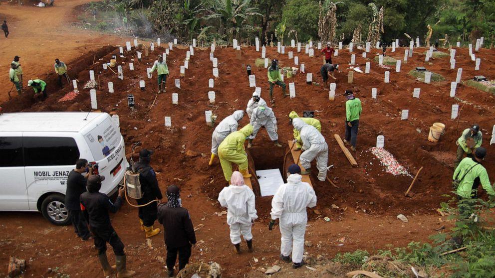 Global Coronavirus death toll surpasses 1 million