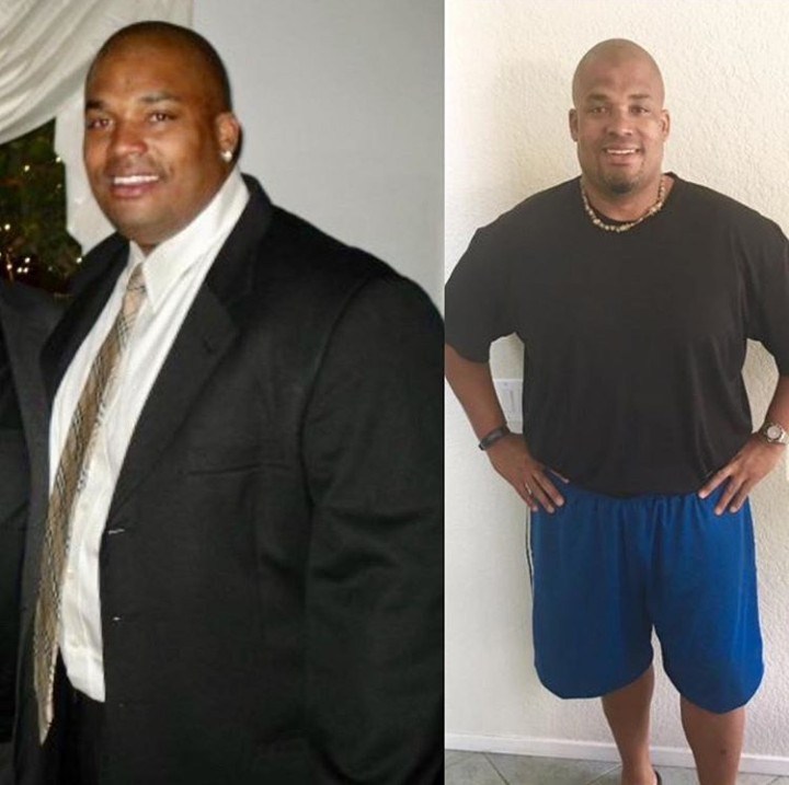 Man loses 80 pounds in just 10 months by eating right and doing moderate exercise