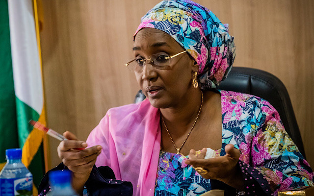 My ministry is not linked to it ? Sadiya Umar Farouq makes clarification on N2.67bn school feeding money which was found in a private account