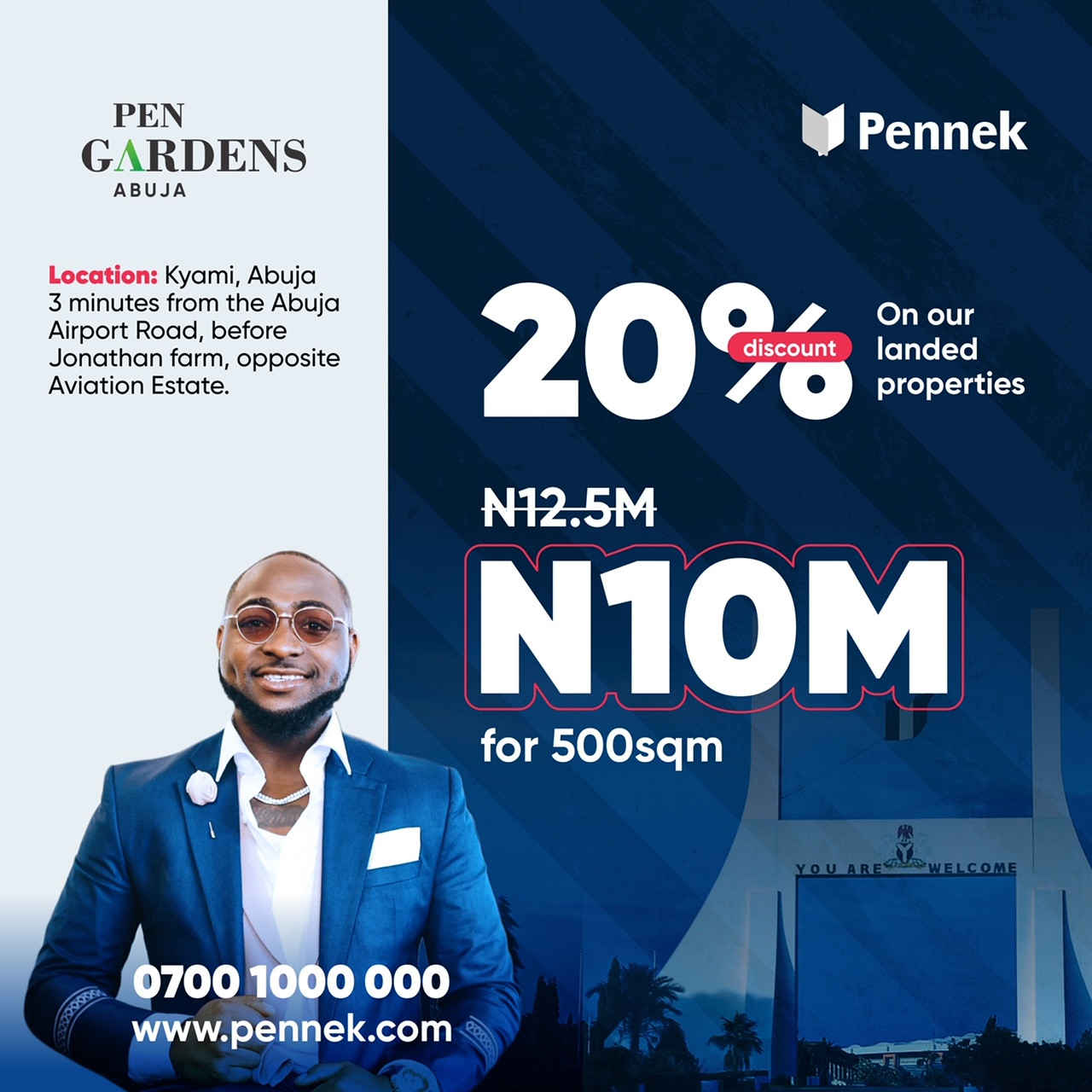 Buy A Property in Abuja with 20% off