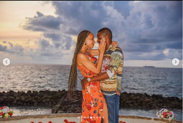 Media personality, Laila Johnson-Salami engaged to boyfriend Abasam