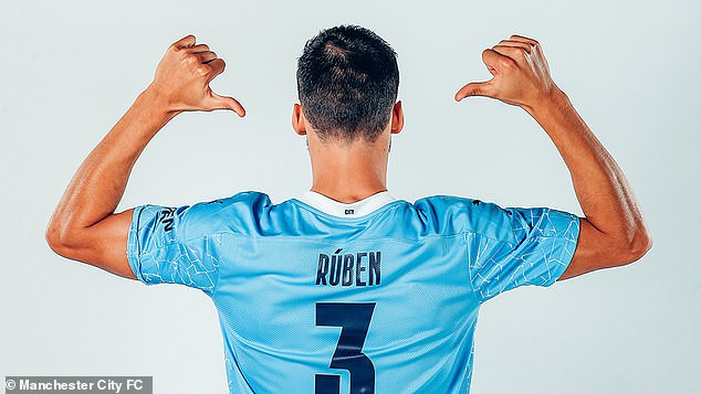 Manchester City announce ?64m signing of Ruben Dias from Benfica on a six-year deal?