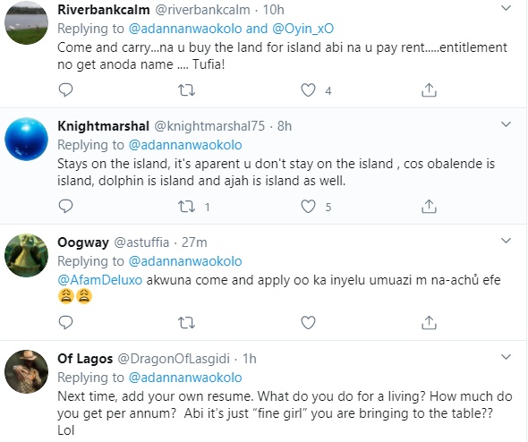 Twitter users react as Nigerian lady comes online to search for a boyfriend for herself and her friends
