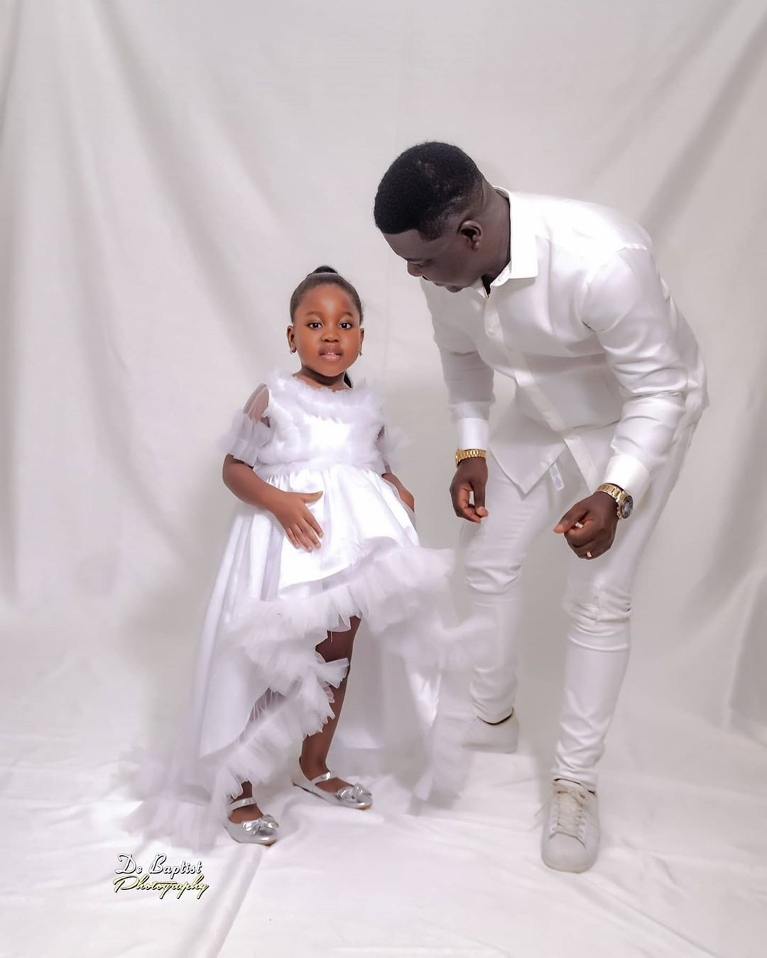 Comedian Seyi Law shares lovely photo of himself and his daughter, Tiwa, who turns 4 today