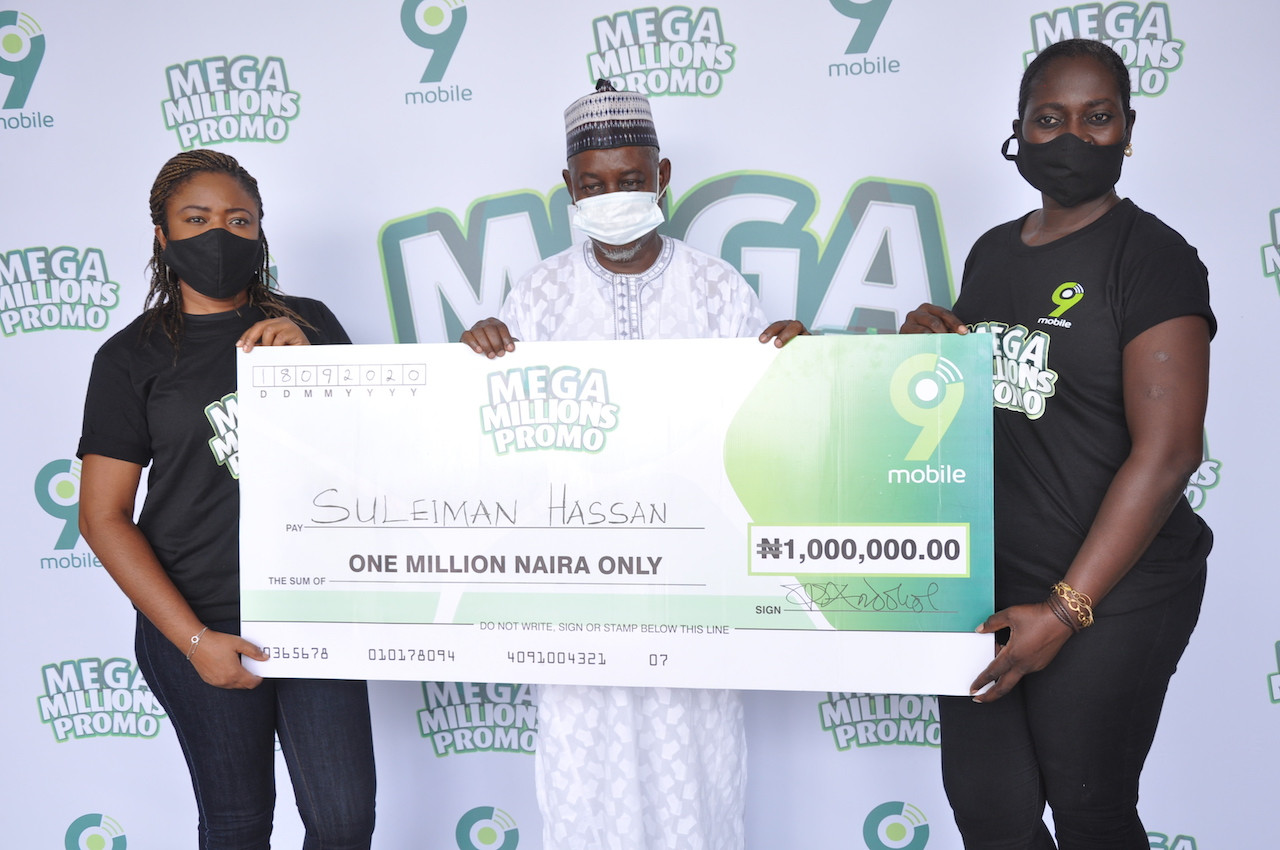 Surprises galore as more customers win big in ongoing 9mobile Mega Millions Promo