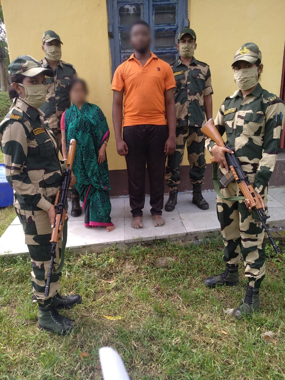 Nigerian national arrested while trying to illegally enter Bangladesh from India